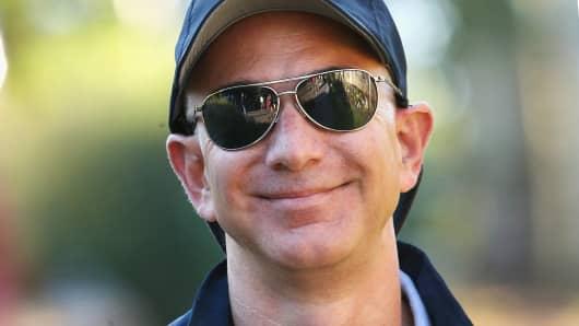Amazon's Jeff Bezos