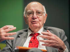 Paul Volcker, former chairman of the U.S. Federal Reserve