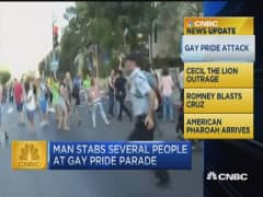 CNBC update: Gay pride attack