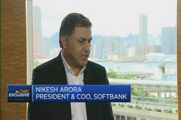 Tracking SoftBank's strategy shift