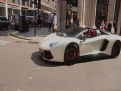 Supercars invade London