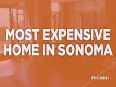 Most expensive home in Sonoma