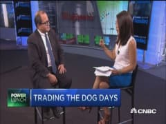 Bull trades for dog days