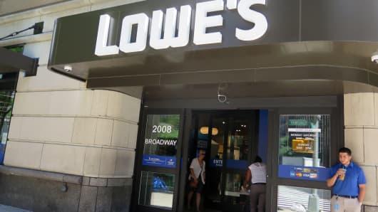 Lowe's new Manhattan store.