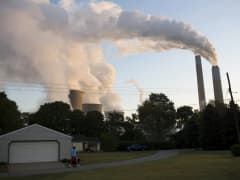 Pollution power plant