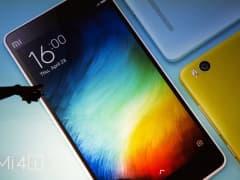Xiaomi Mi 4i smartphones