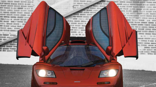 The 1998 Mclaren F1 LM being sold by RM Sotheby's could fetch between $12 million to $15 million.