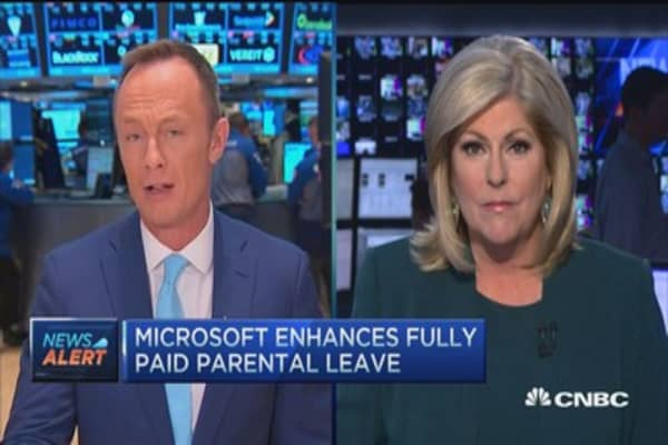 Microsoft enhances employee benefits