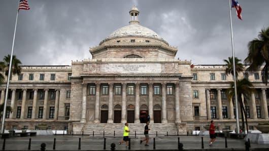 The Puerto Rican Capitol in San Juan