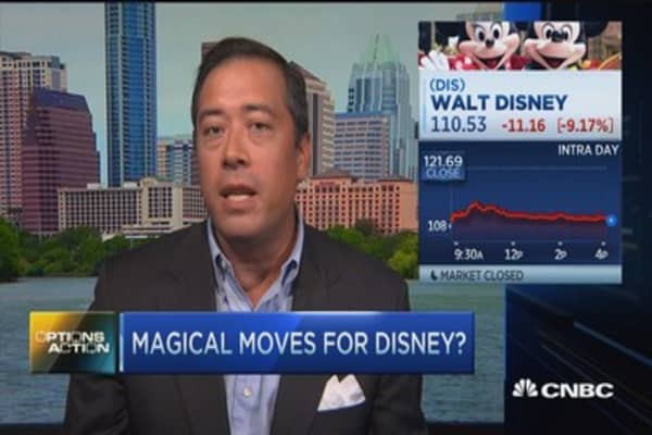Options Action: Magical move for Disney?