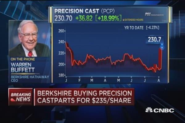 Warren Buffett: Precision CEO loves what he does