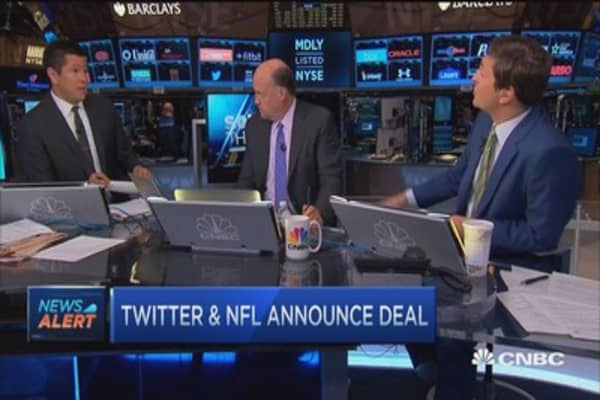Cramer: Why NFL-Twitter deal is good