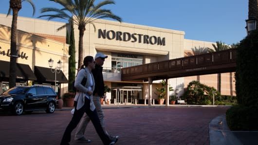 A Nordstrom store in Irvine, California.