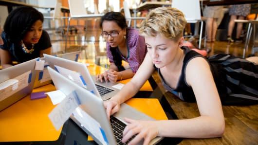Girls Who Code Summer Immersion Program at AppNexus.