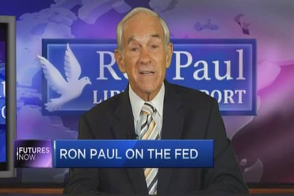 Ron Paul: 'Everything is vulnerable'