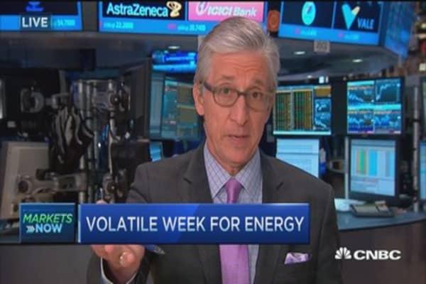 Pisani: Oil stocks' very good week