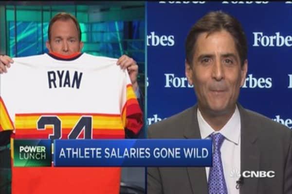 Have sports salaries peaked?