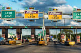 E-Z Pass toll booth