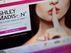 Ashley Madison website.