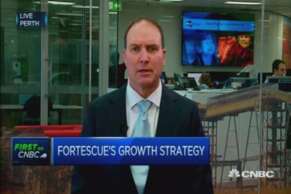 Fortescue: We're well-positioned for any market recovery