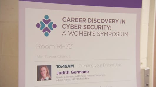 NYU-Polytechnic School of Engineering hosted a conference to get more women interested in cybersecurity as a career.