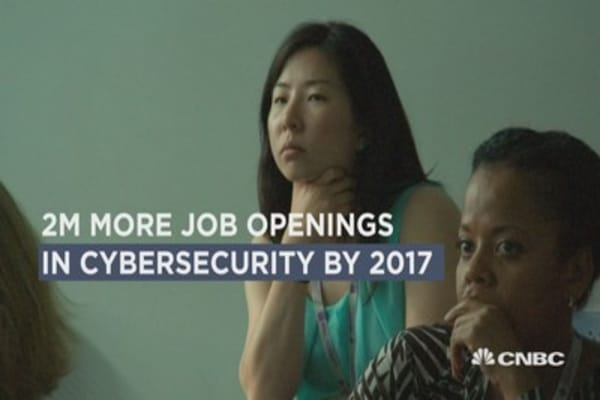 Cybersecurity's gender gap