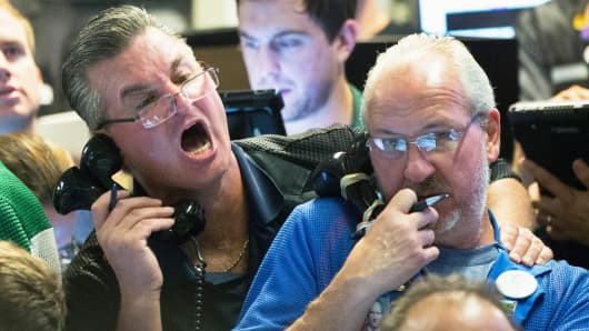 CBOE traders