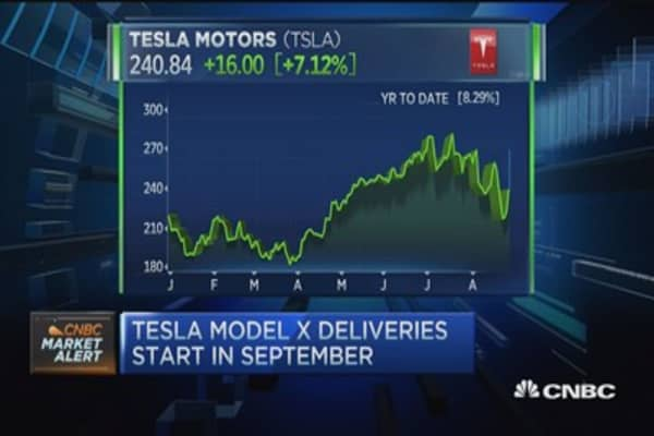 Tesla earns perfect score