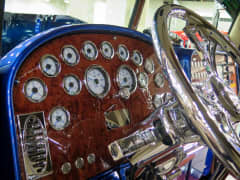 Chrome cab of
