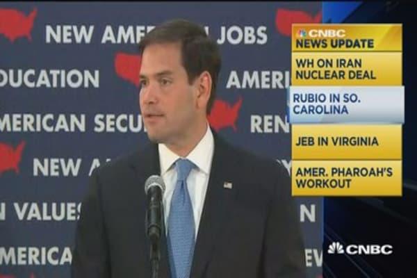 CNBC update: Rubio blasts China