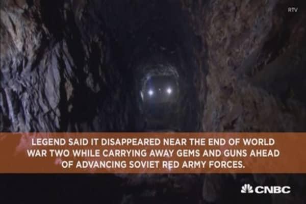 Nazi treasure said to be discovered on train