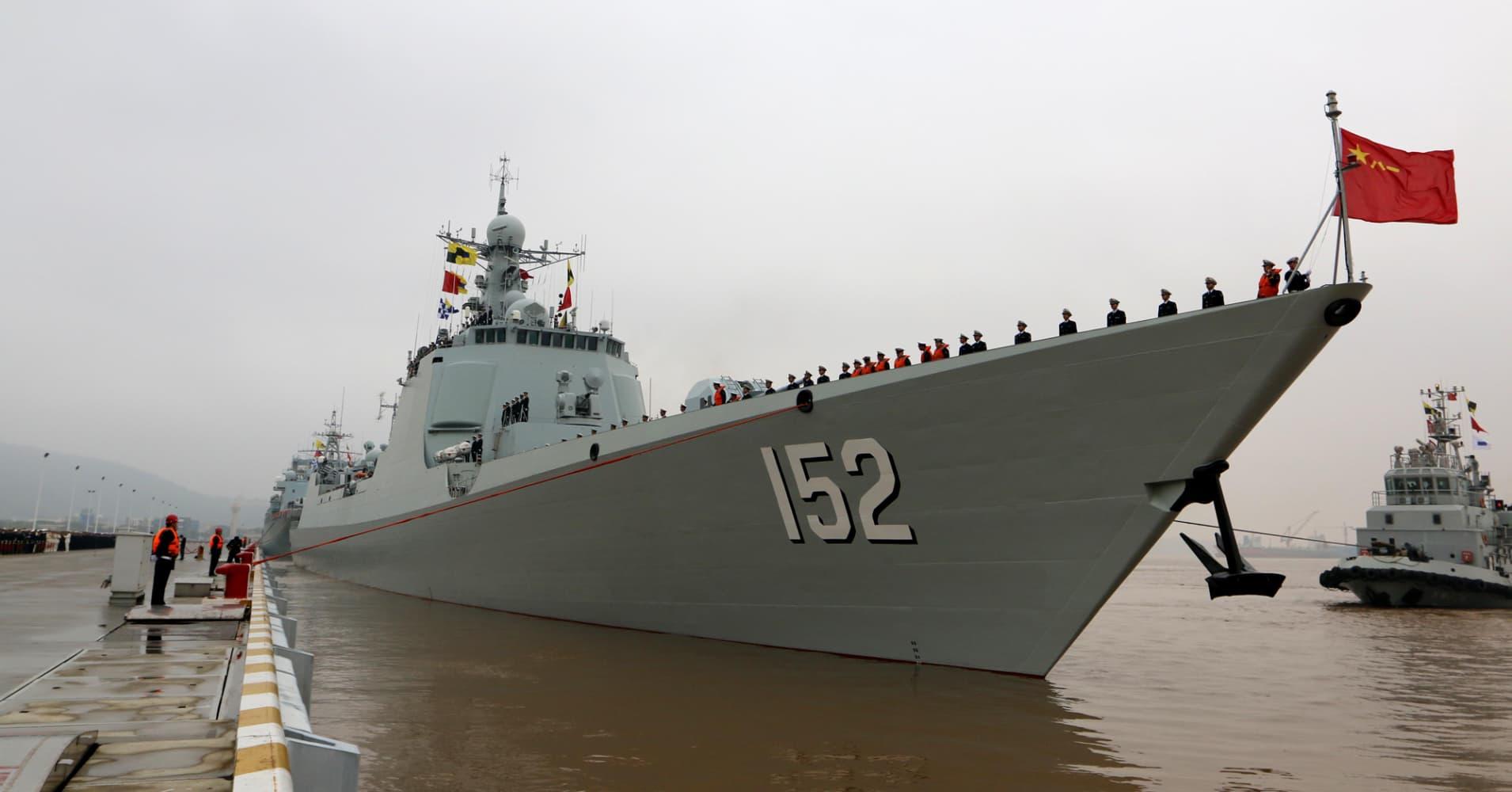 Five Chinese Navy Ships In Bering Sea As Obama Visits Alaska