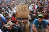 Migrant Crisis: Refugees Budapest