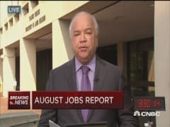 August jobs up 173,000