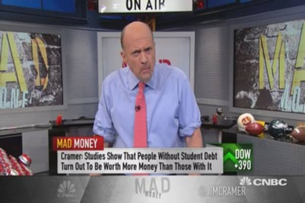 Cramer: Best way to tackle student loan debt
