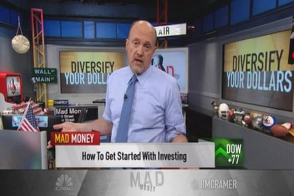 Cramer: How to get involved in the stock market