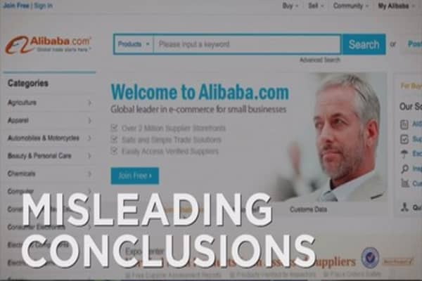 Alibaba fights back