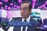 U.S. is a healthy market: Renault-Nissan CEO