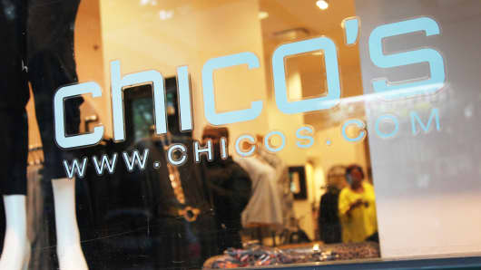 A Chico's store in New York.