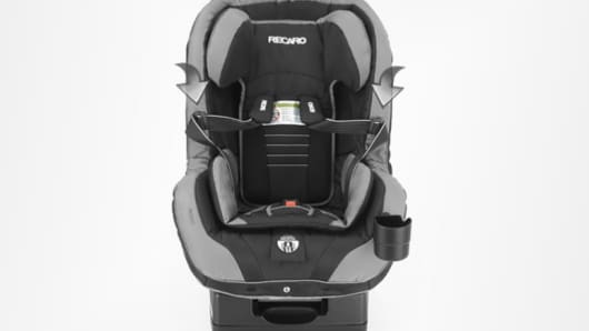 recaro recall child car seats top tether can come loose. Black Bedroom Furniture Sets. Home Design Ideas