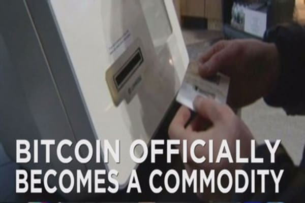 Bitcoin officially becomes a commodity