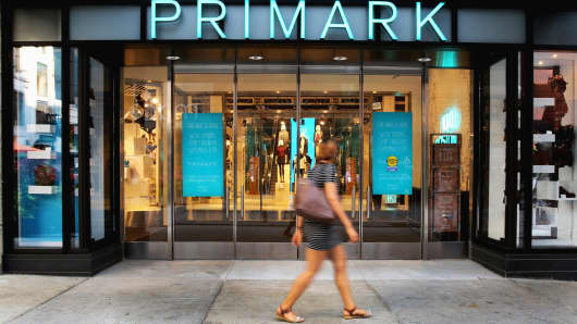The new Primark store at Downtown Crossing in Boston on Sept. 8, 2015.