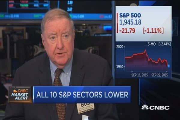Cashin: Why the markets are lower