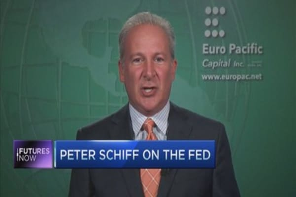 Schiff: I'm right about the fed and i'll be right about stocks