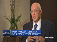 President Xi  'very serious' about market reforms: Paulson