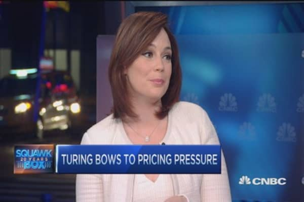 Turing bows to pricing pressure