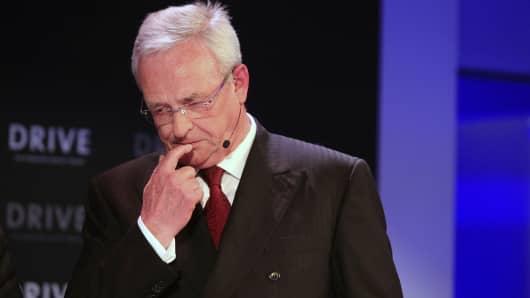 Martin Winterkorn, chief executive officer of Volkswagen AG (VW).