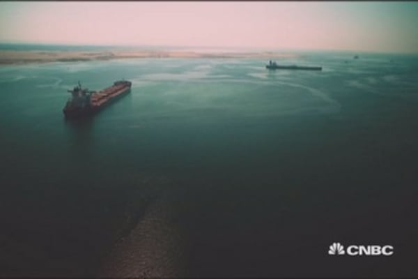 Suez Canal: Take an exclusive look
