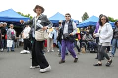 Seniors participate in a Zumba class during the 8th Annual Healthy Living Festival in Oakland, California. (File Photo).