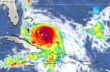 Hurricane Joaquin hits the Bahamas